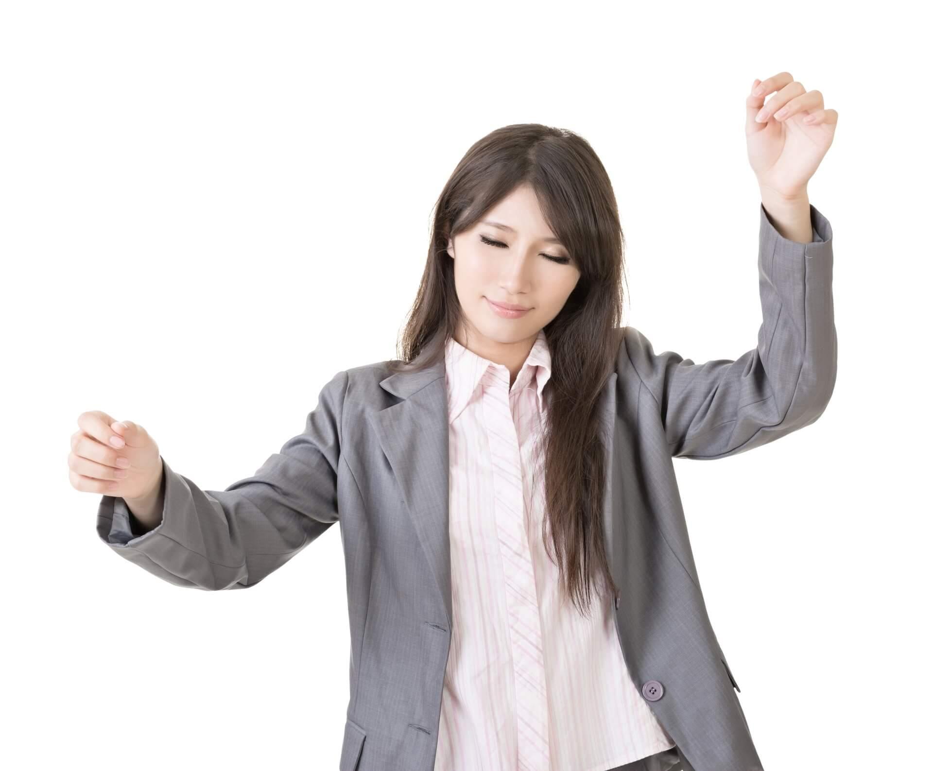 Bild einer Chorleiterin