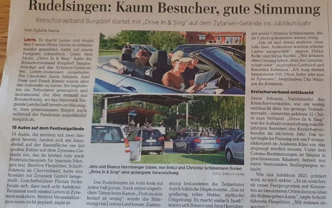 Drive In & Sing in Lehrte